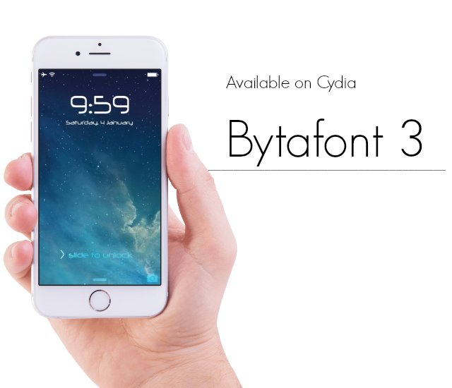 bytafont 3 cydia apps 2017