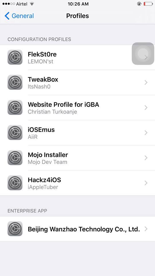 xcleaner app profile