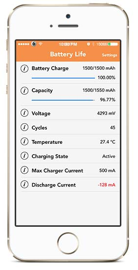 battery life cydia tweak