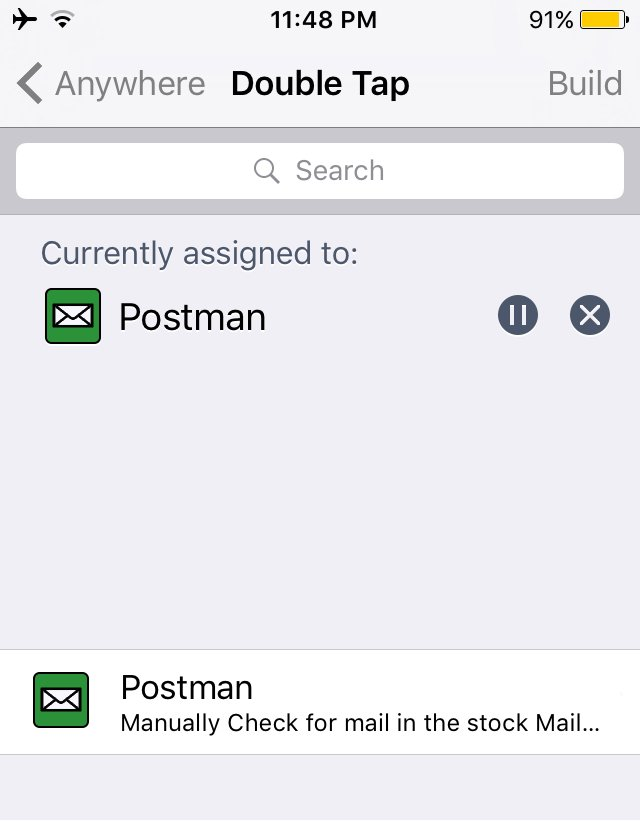 postman cydia tweak