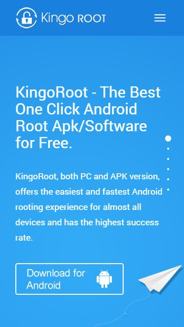 root android without pc using kingoroot