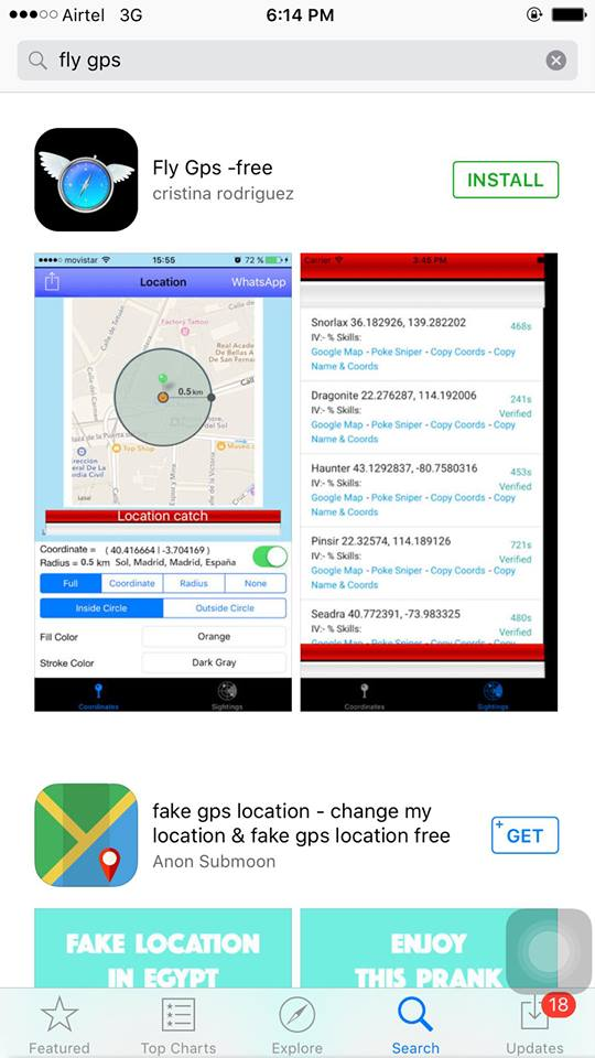 fake gps pokemon go ios 11