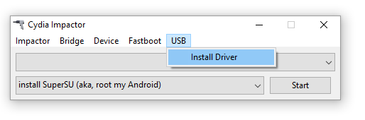 cydia impactor usb driver for android