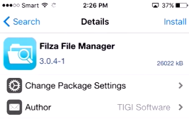 download filza for iphone