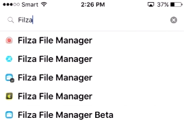 filza file manager ios 10