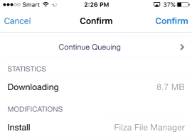 install filza on iphone without jailbreak