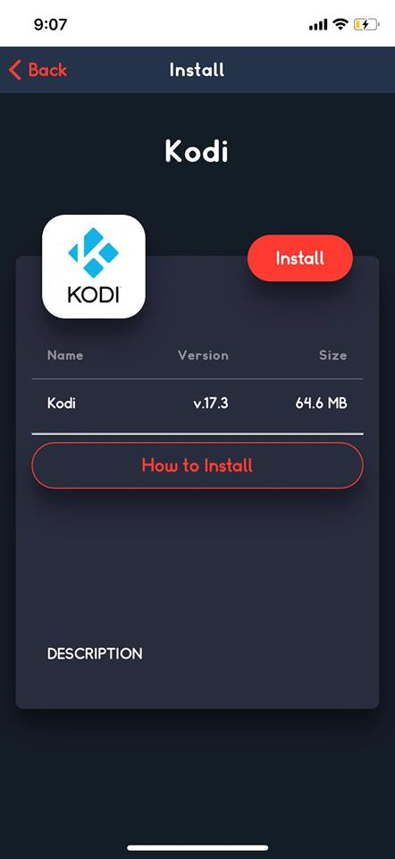install kodi on iphone x without jailbreak