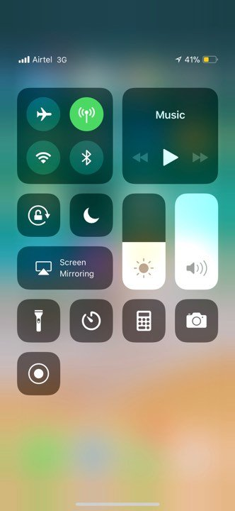 ios 11 default screen recording