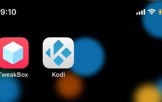 kodi installed on iphone
