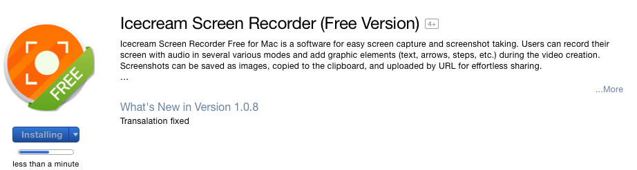 icecream screen recorder for mac