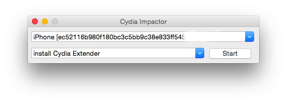install tubemate on iphone using cydia impactor