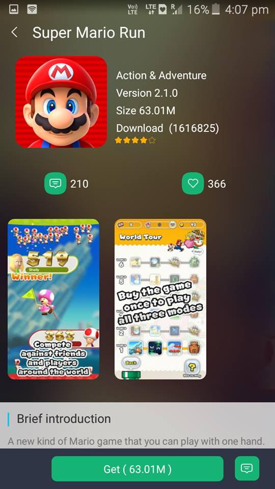 super mario run hack apk download