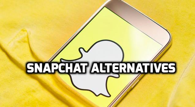 apps like snapchat 2018