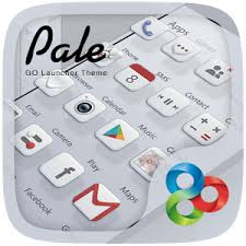 Pale Go launcher Theme and icon pack