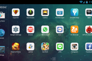 droid4x android virtual machine