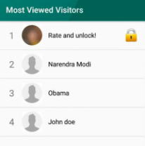 whatsapp profile visitors iphone