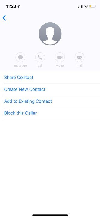 block messaging caller on iphone