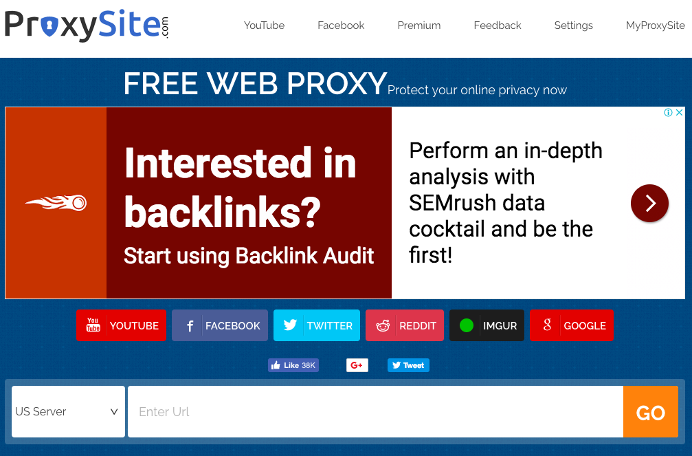 Free Proxy Sites Unblocked 2018 You Can Use for Safer Web