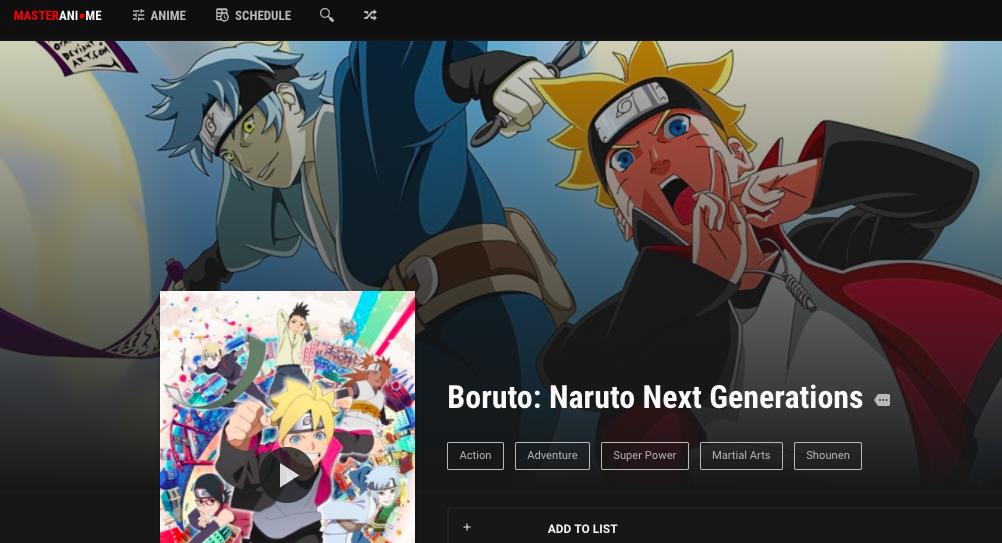 Anime Stream Online