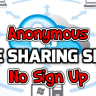 free anonymous file sharing websites without registration