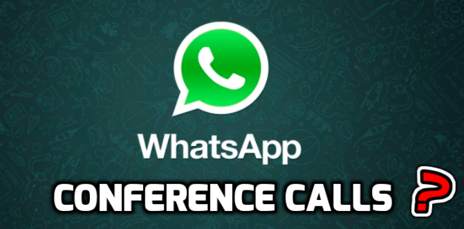 whatsapp conference calls android and iphone