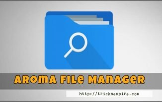 Download Aroma File Manager for Android (Recovery File Manager)