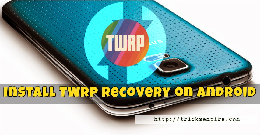 install twrp apk app on android