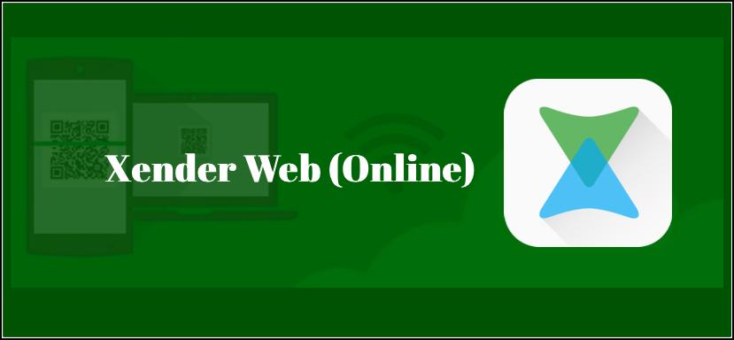xender web pc windows