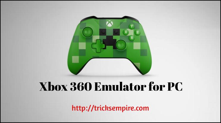 xbox 360 emulator for pc windows download